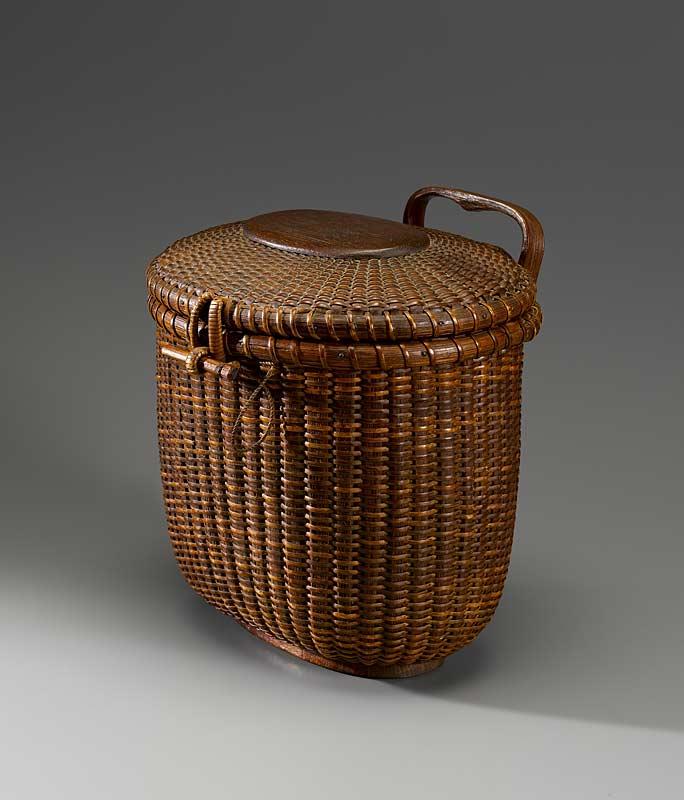 Jose Formoso Reyes Basket Rare Hanging Wall Basket With