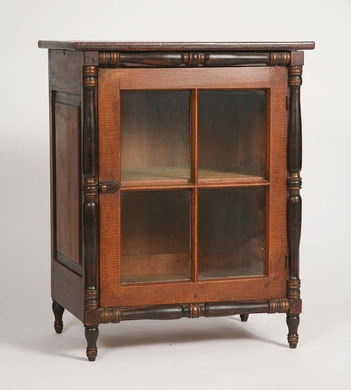 Antique Cupboard, Mohawk Valley, New York, circa 1830 – Austin T. Miller - Antique Cupboard, Mohawk Valley, New York, Circa 1830 – Austin T